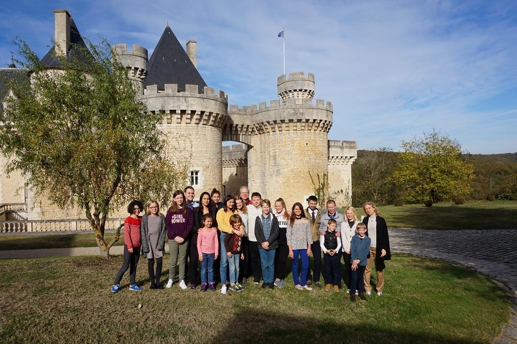 Masterclass au château de Chabenet
