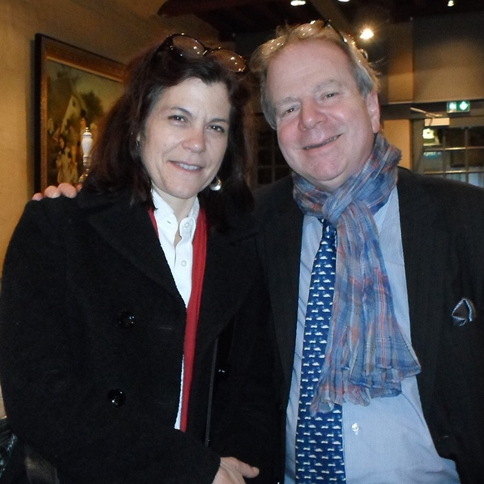 Sonia Wieder-Atherton et Denis Simándy