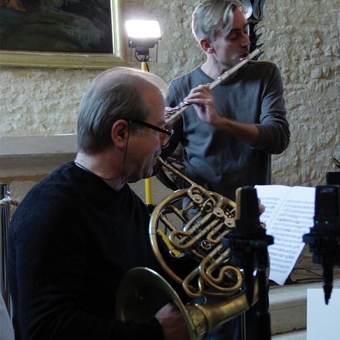 Denis Simándy et Berten d'Hollander