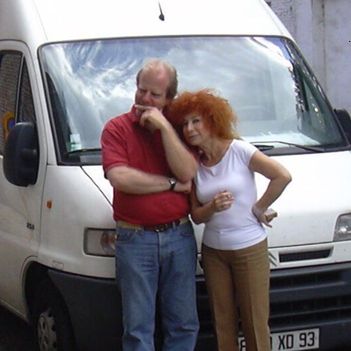 Denis Simándy et Elisabeth Chojnacka