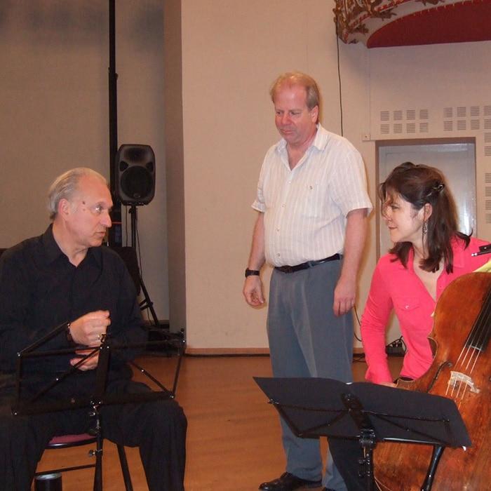 Wolfgang Laufer, Denis Simándy et Sonia Wieder Atherton