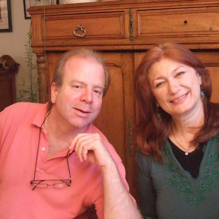 Denis Simándy et Sylvia Sass