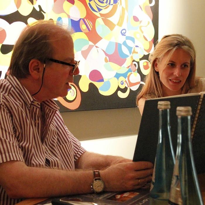 Denis Simándy et Claire-Marie Le Guay