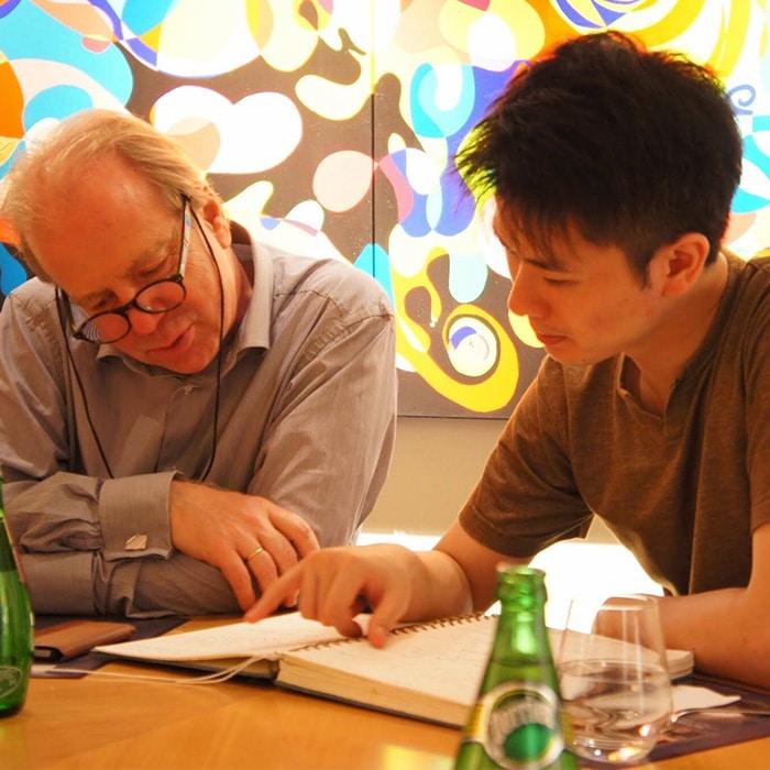 Denis Simándy et Kotaro Fukuma