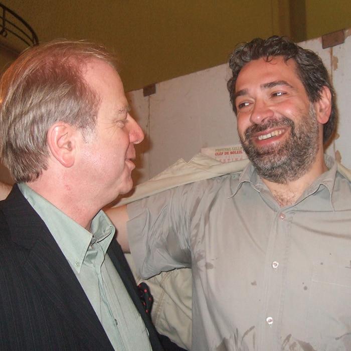 Denis Simándy et Lovro Pogorelich