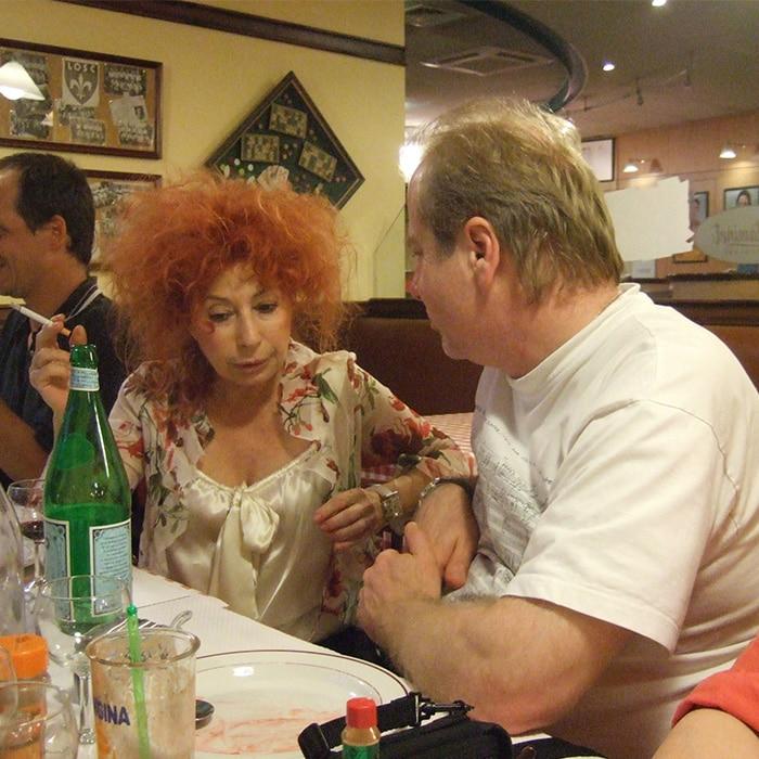 Denis Simándy et Elisabeth Chojnachka