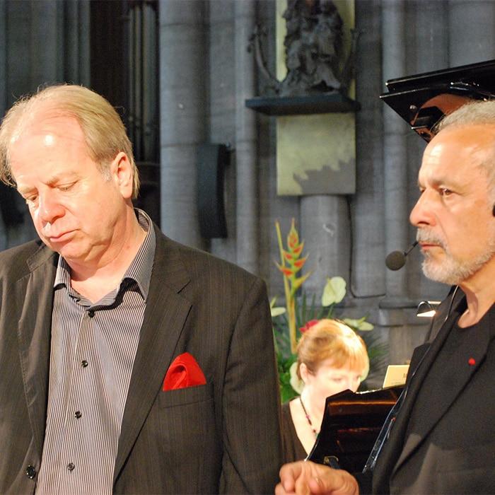 Denis Simándy et Francis Perrin