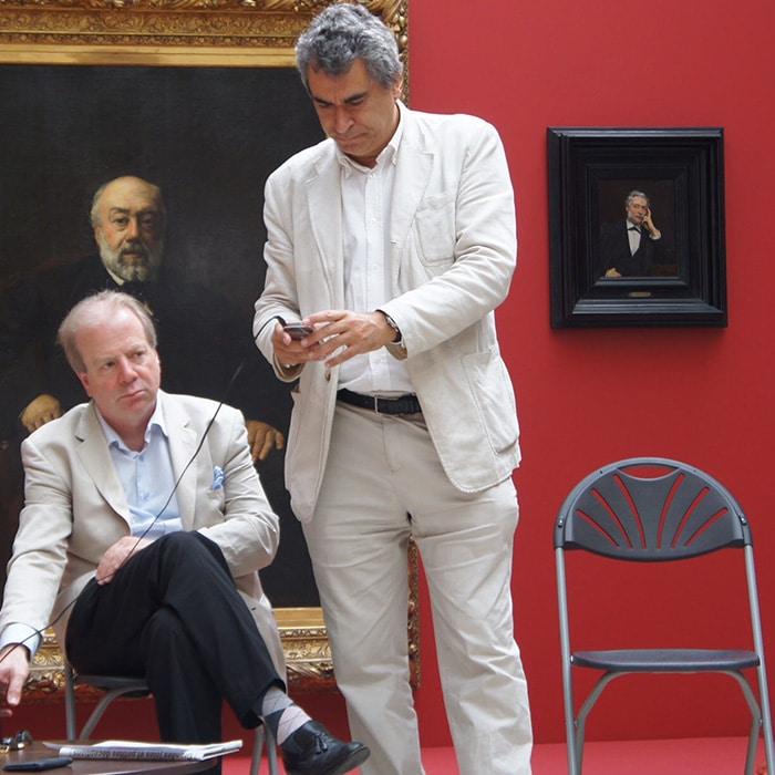 Denis Simándy et Nicolas Bacri