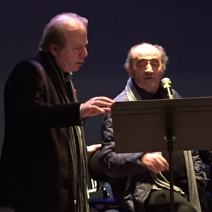 Denis Simándy et Richard Bohringer