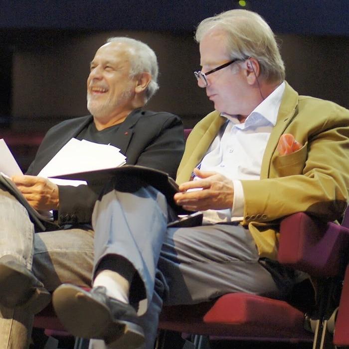 Francis Perrin et Denis Simándy