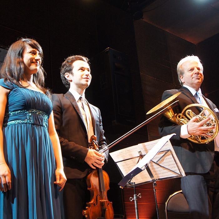 Shani Diluka, Gabriel Le Magadure et Denis Simándy
