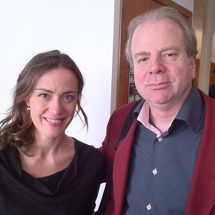 Sarah Willis et Denis Simándy