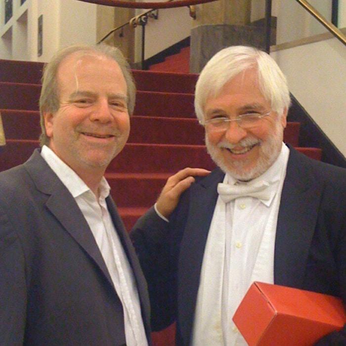 Denis Simándy et Dale Clevenger