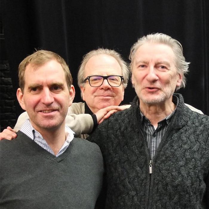 Thomas Van Haeperen, Denis Simándy et Jacques Lenot