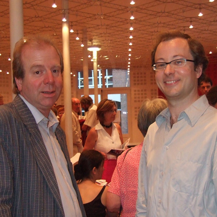 Denis Simándy et Guillaume Connesson