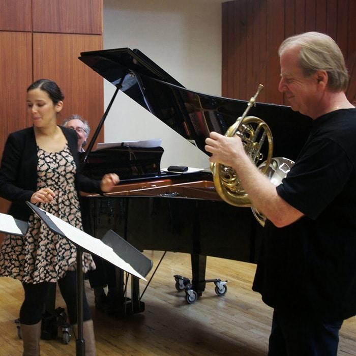 Gabrielle Philiponnet, Alain Raës et Denis Simándy