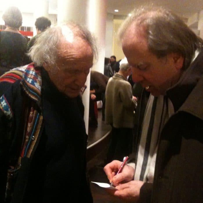 Ivry Gitlis et Denis Simándy