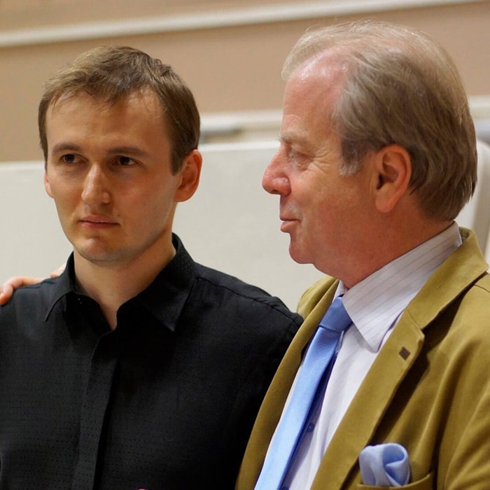Nikita Boriso-Glebsky et Denis Simándy