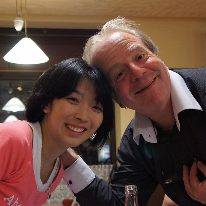 Claire Huangci et Denis Simándy