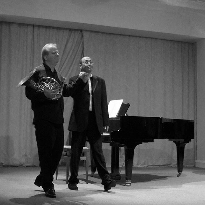 Denis Simándy et Alexander Paley