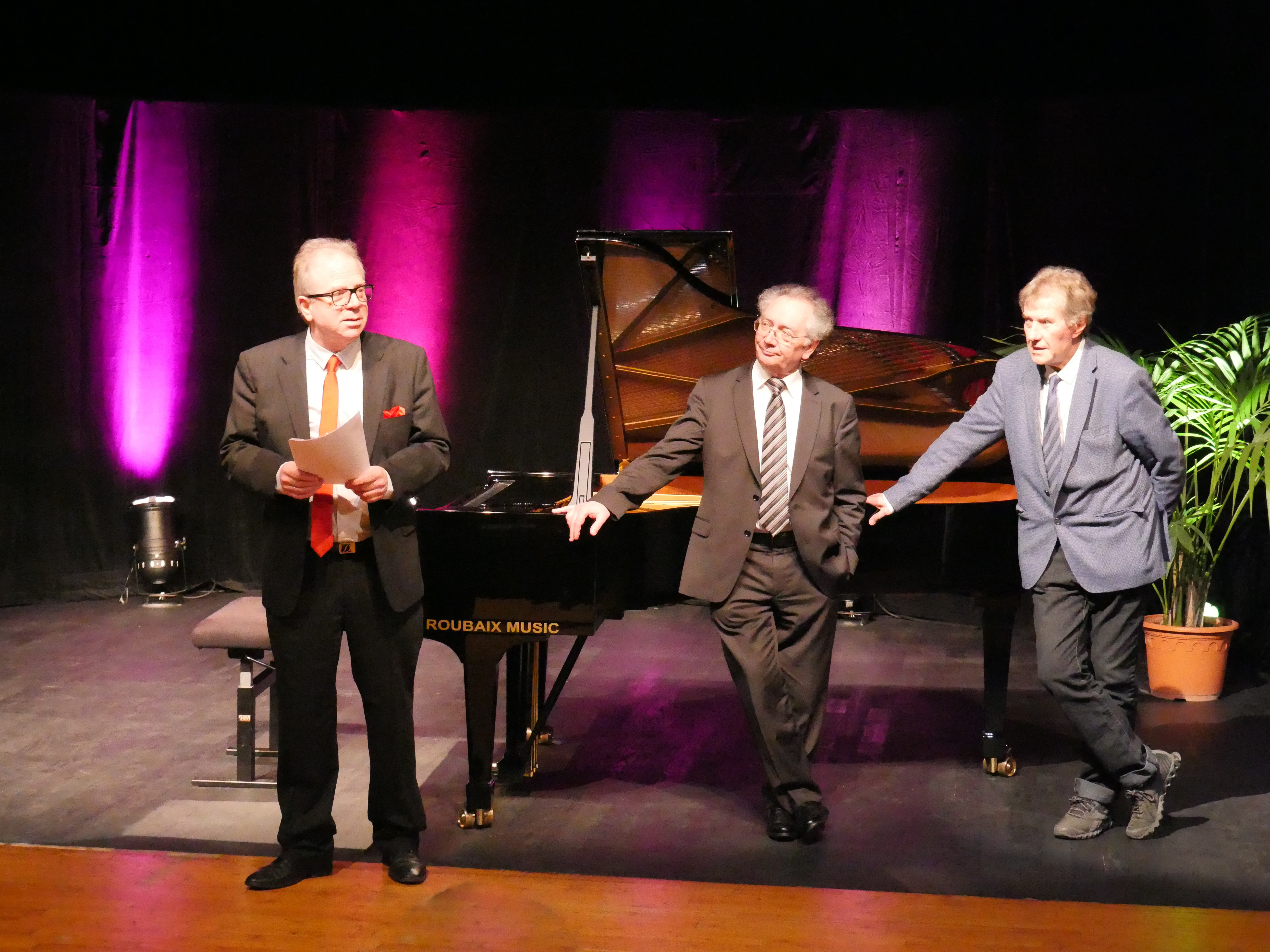 Denis Simandy, Jury au Concours Pianissima International