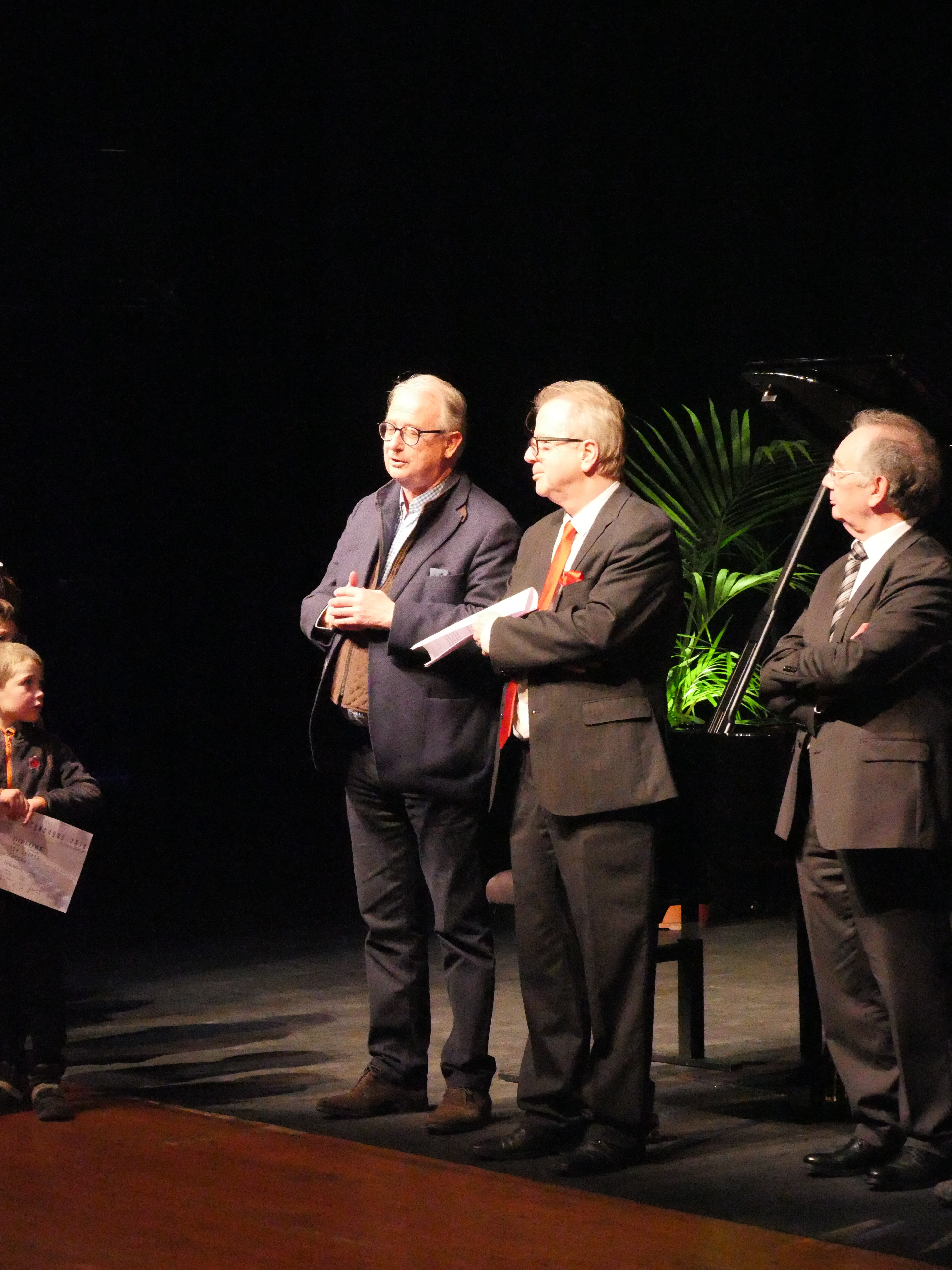Denis Simandy, Jury au Concours Pianissima International, avec le maire de Marcq en Baroeul