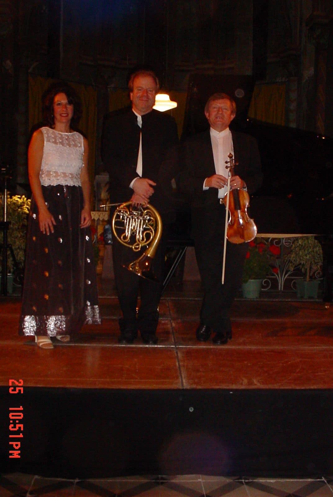 Carole Carniel, Denis Simándy et Jean-Pierre Sabouret, ler origines du Trio Johanna