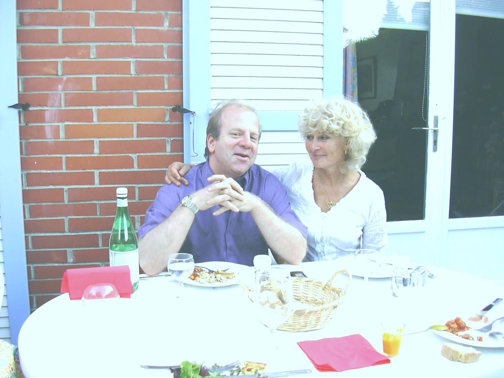 Denis Simándy et Marielle Nordmann